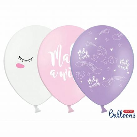Unicorn Star Make a Wish Balloons